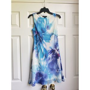 NWOT American Living Summer Watercolor  Dress